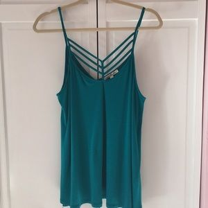 Scrappy front Express cami size Large